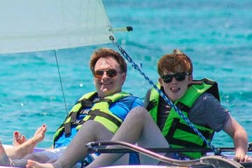 hobie cat in cancun tour